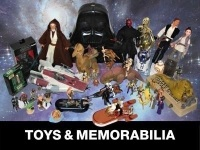 A Large Private Collection of Star Wars and Other Films, Toys and Memorabilia