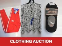 Wednesday - Clothing Auction
